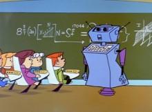 scuola del futuro nei Jetsons