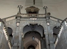 008 - Front of the Grand Staircase, Palazzo Serra di Cassano, Napoli