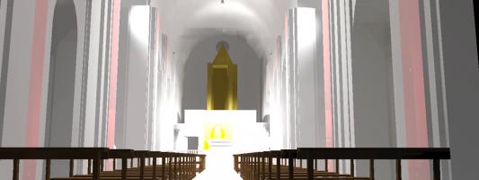 Software di simulazione per studiare la distribuzione della luce
