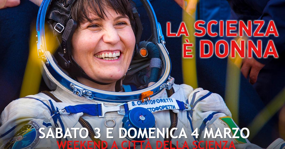 1200x628 la scienza è donna- 3 e 4 marzo a città della scienza