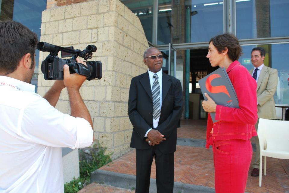 Visita dell'Ambasciatore del Bukina Faso a Città della Scienza