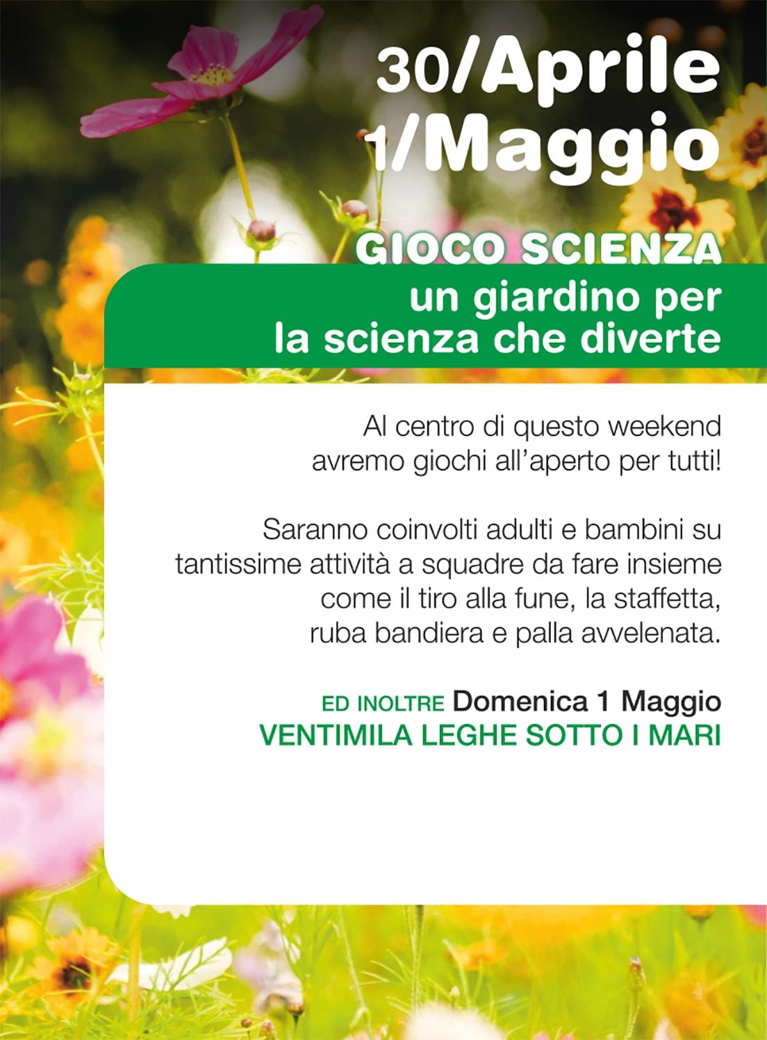 30 APRILE - 1 MAGGIO