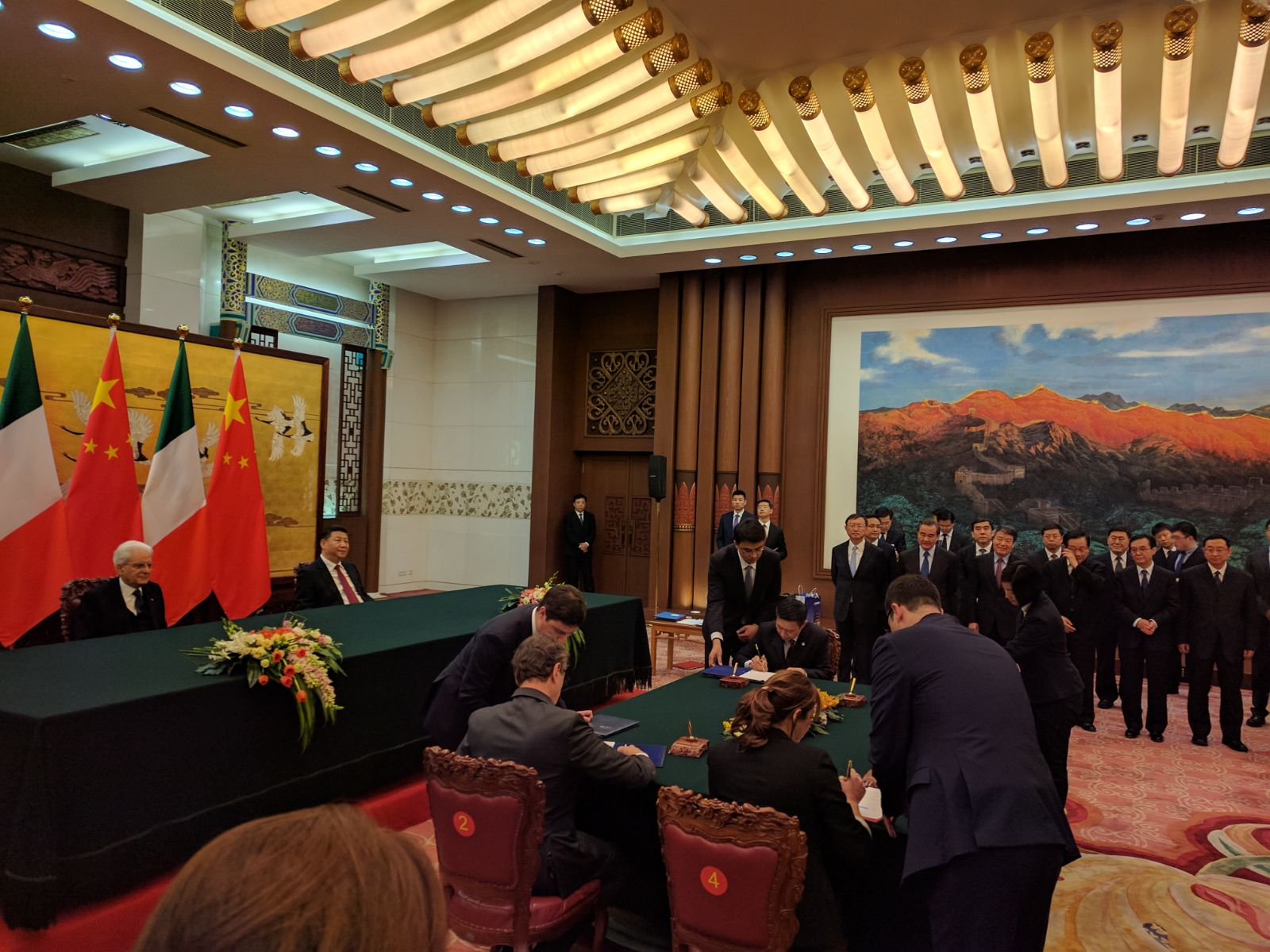Business Forum Italia-Cina, intesa tra Regione Campania e Municipalità di Pechino (2)