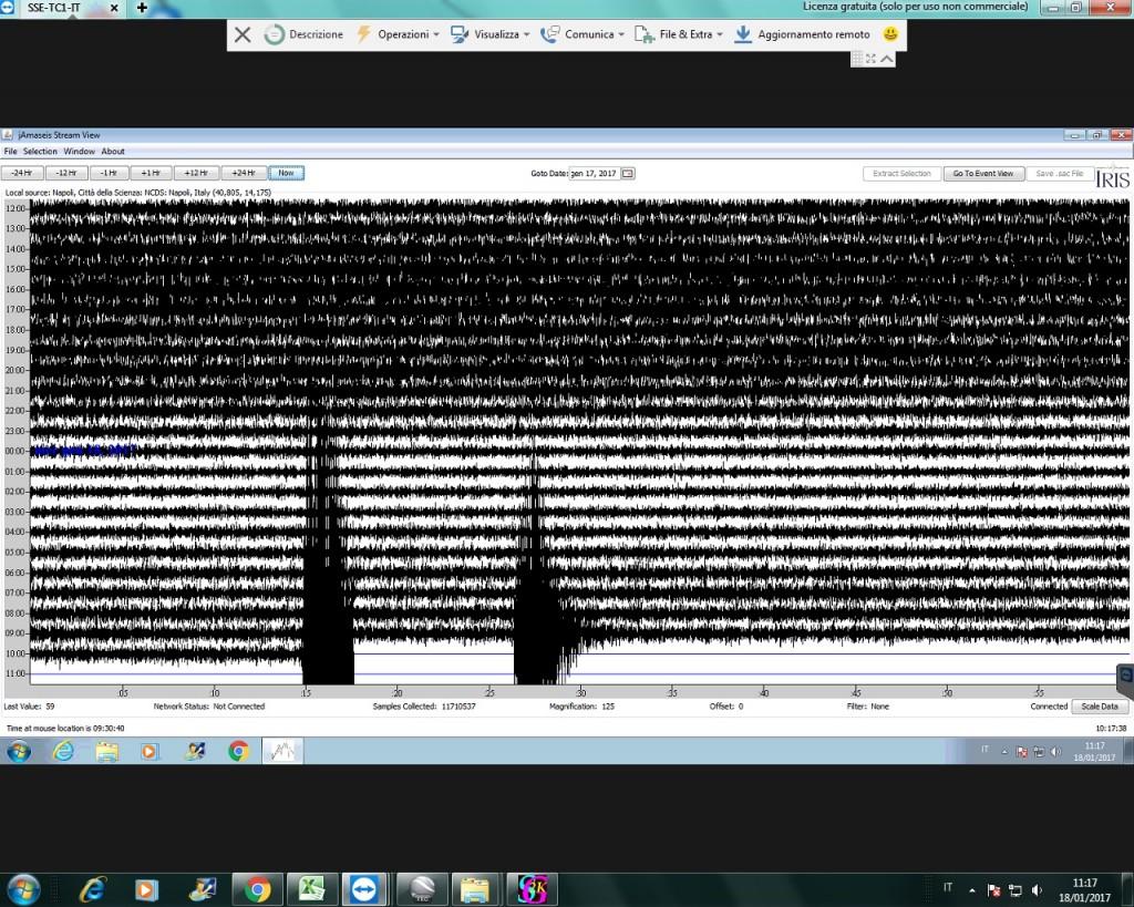 Città della Scienza_terremoto 18 gennaio 2017
