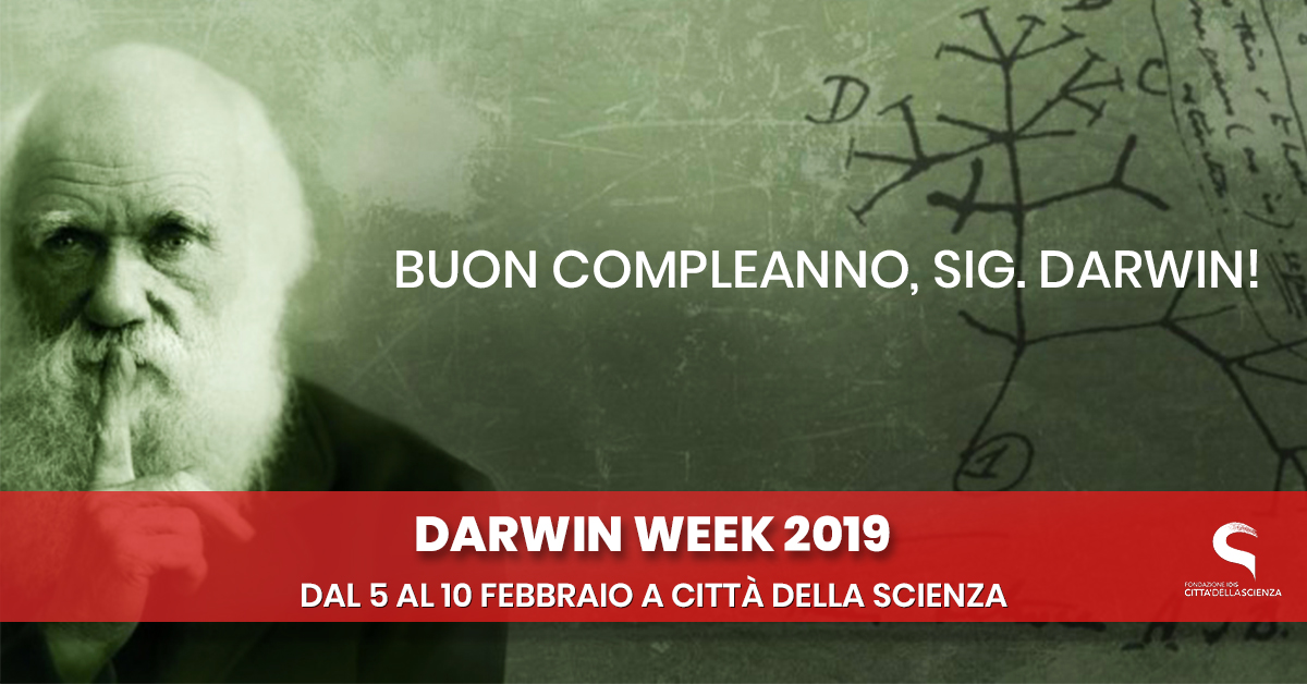 DARWIN WEEK 2019 a città della scienza