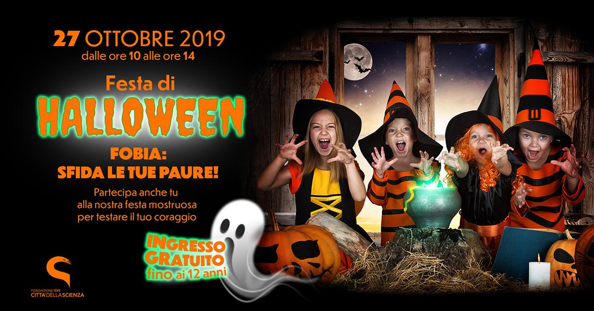 Festa di Halloween 2019 a Città della Scienza
