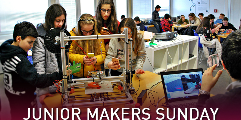 JUNIOR MAKERS SUNDAY