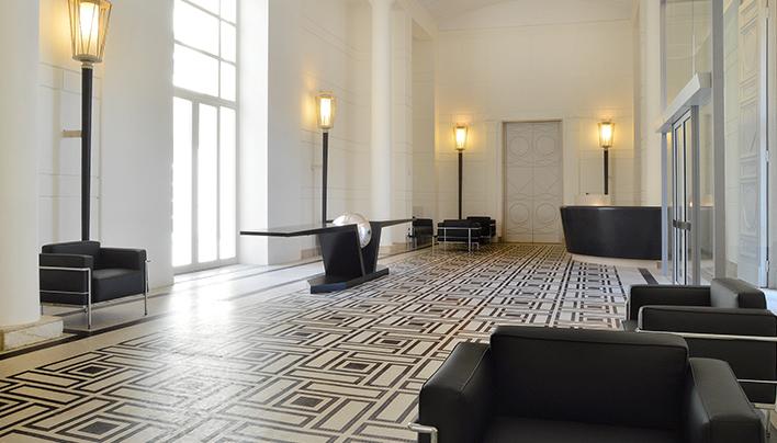 LOBBY Palazzo Esedra Napoli