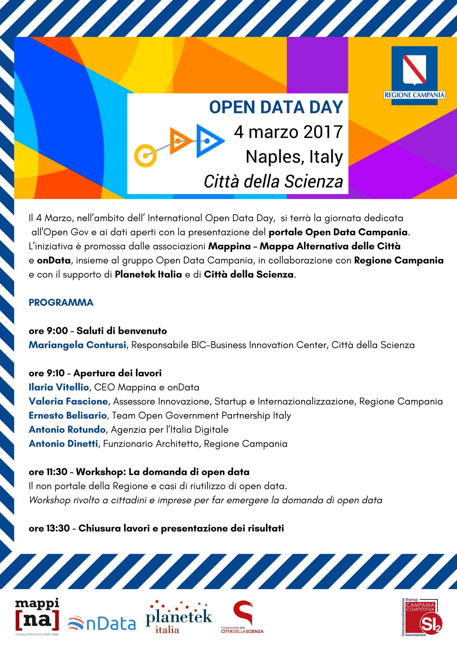 Locandina Open Data Day