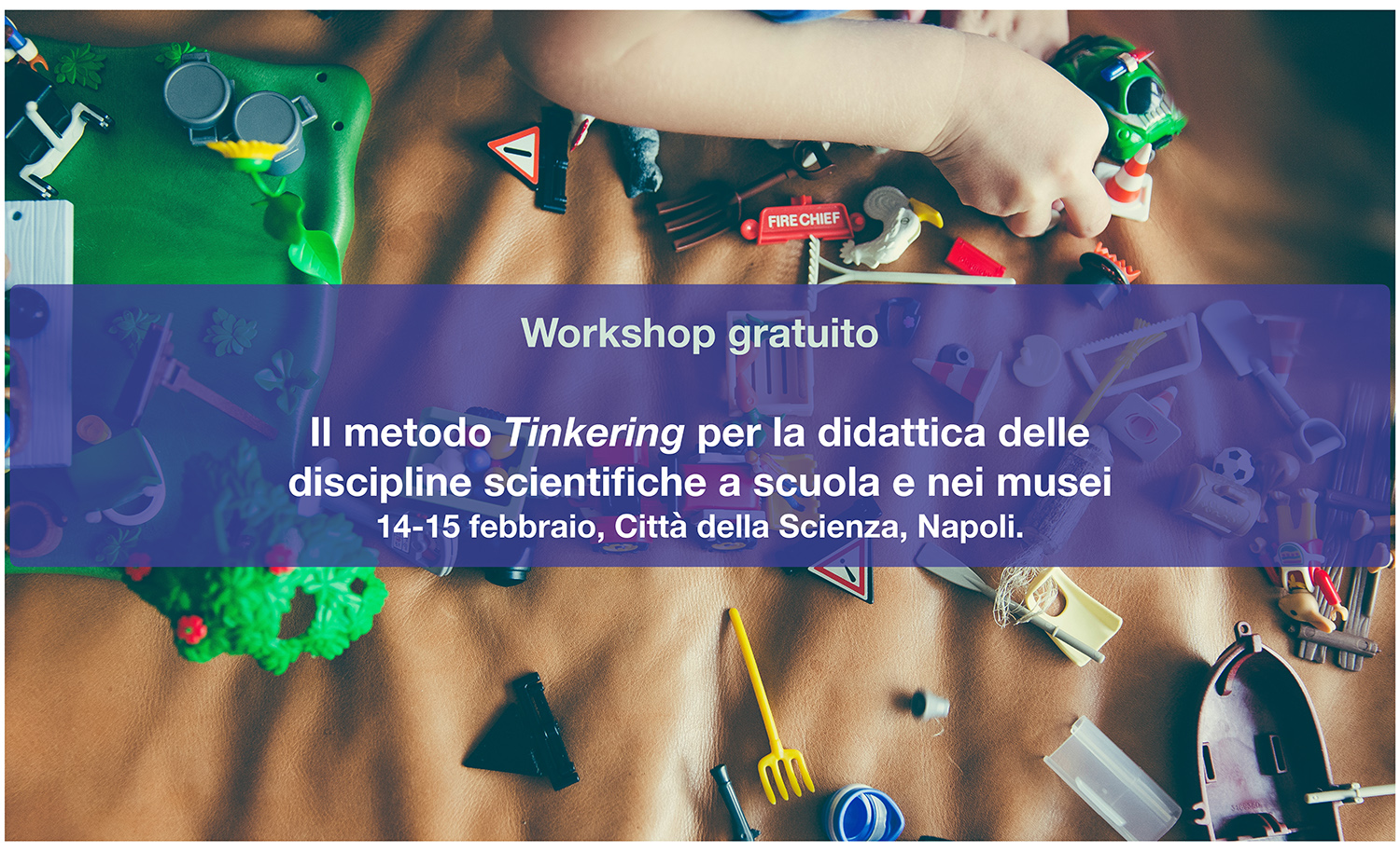 "Locandina Tinkering. ""Tinkering method for the teaching of scientific  disciplines ... 0a7c46fe4d4"