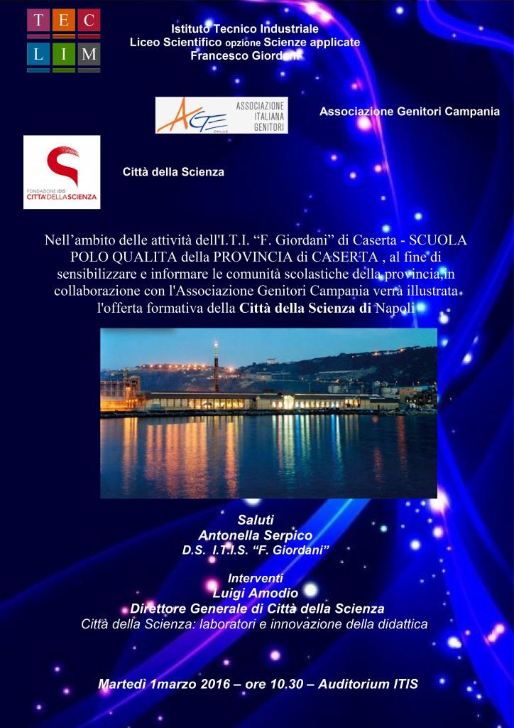 Microsoft Word - Locandina cittadellascienza.doc