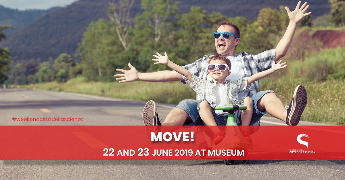 Muoviti - 22 e 23 giugno a Città della Scienza _ENG