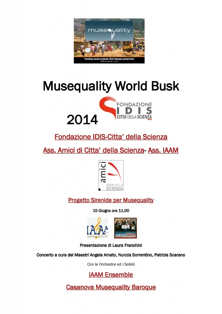 Musequality World Busk 2014