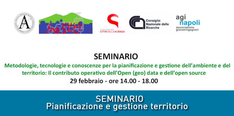 Open (geo) data e dell'open sourcei