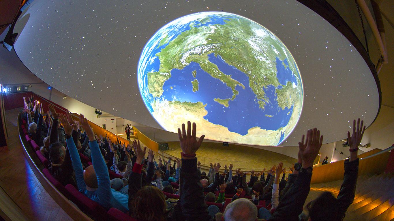 Planetario 3D di Città della Scienza