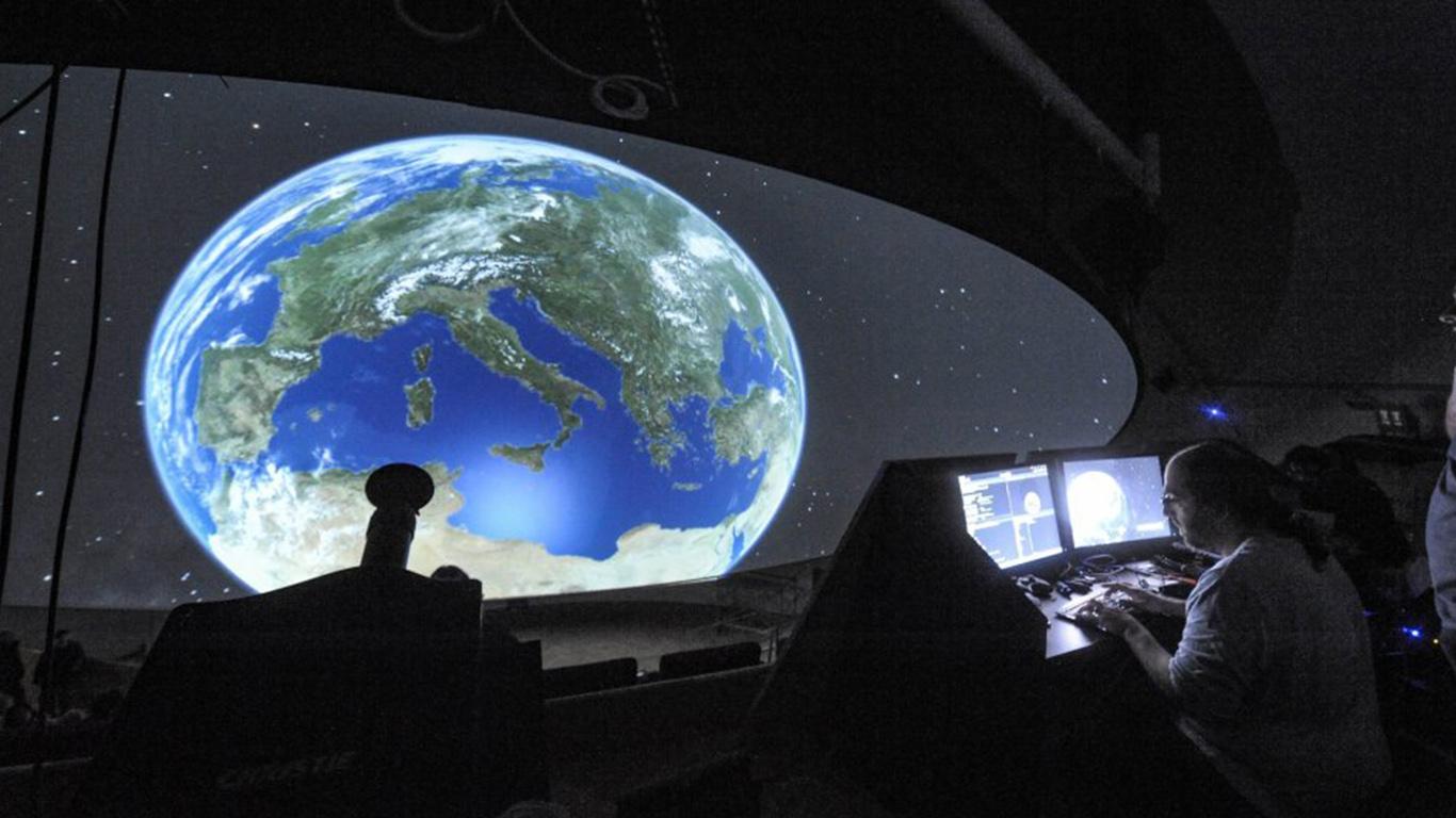 Planetario Città della Scienza Digistar