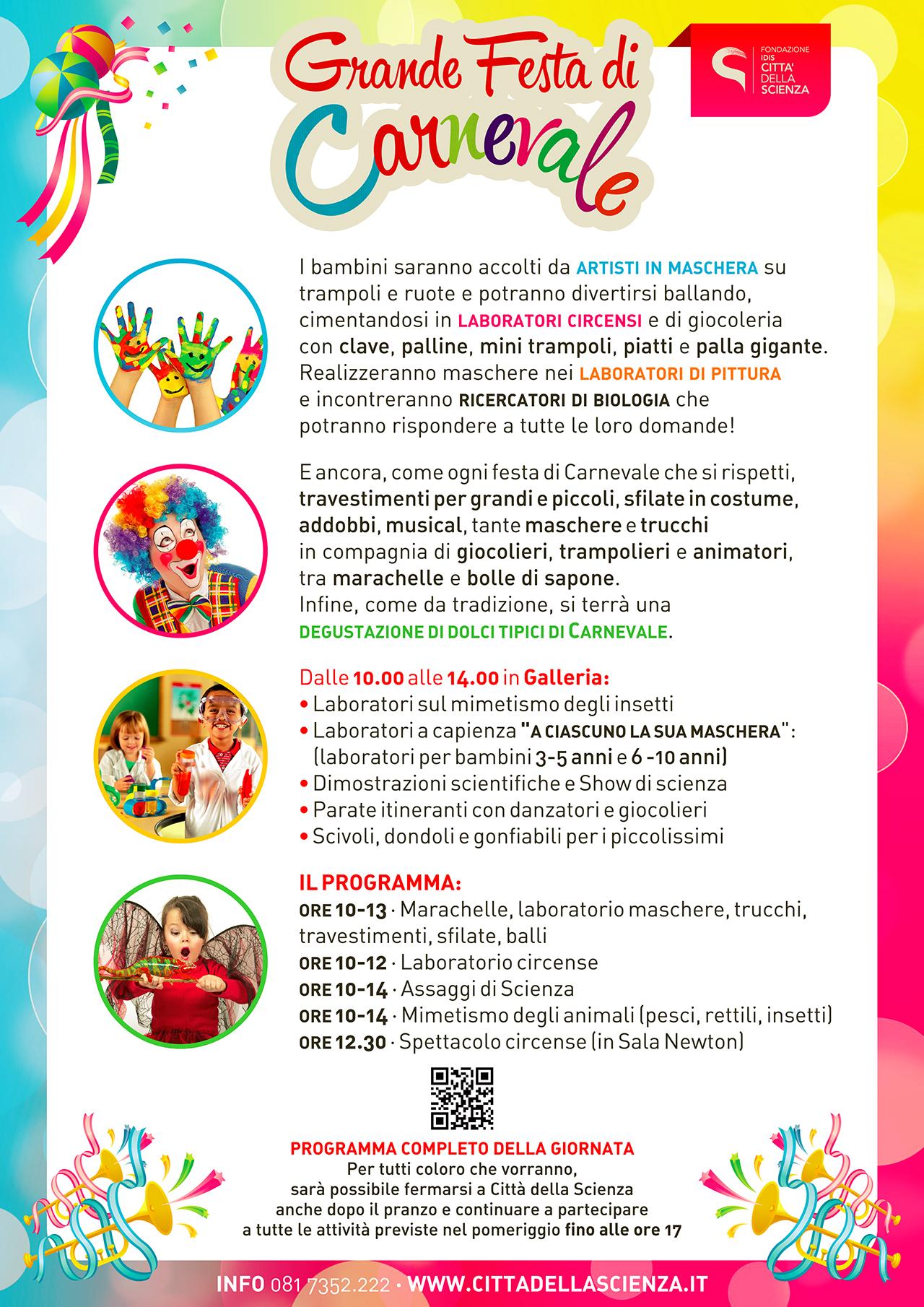 volantino carnevale 2016