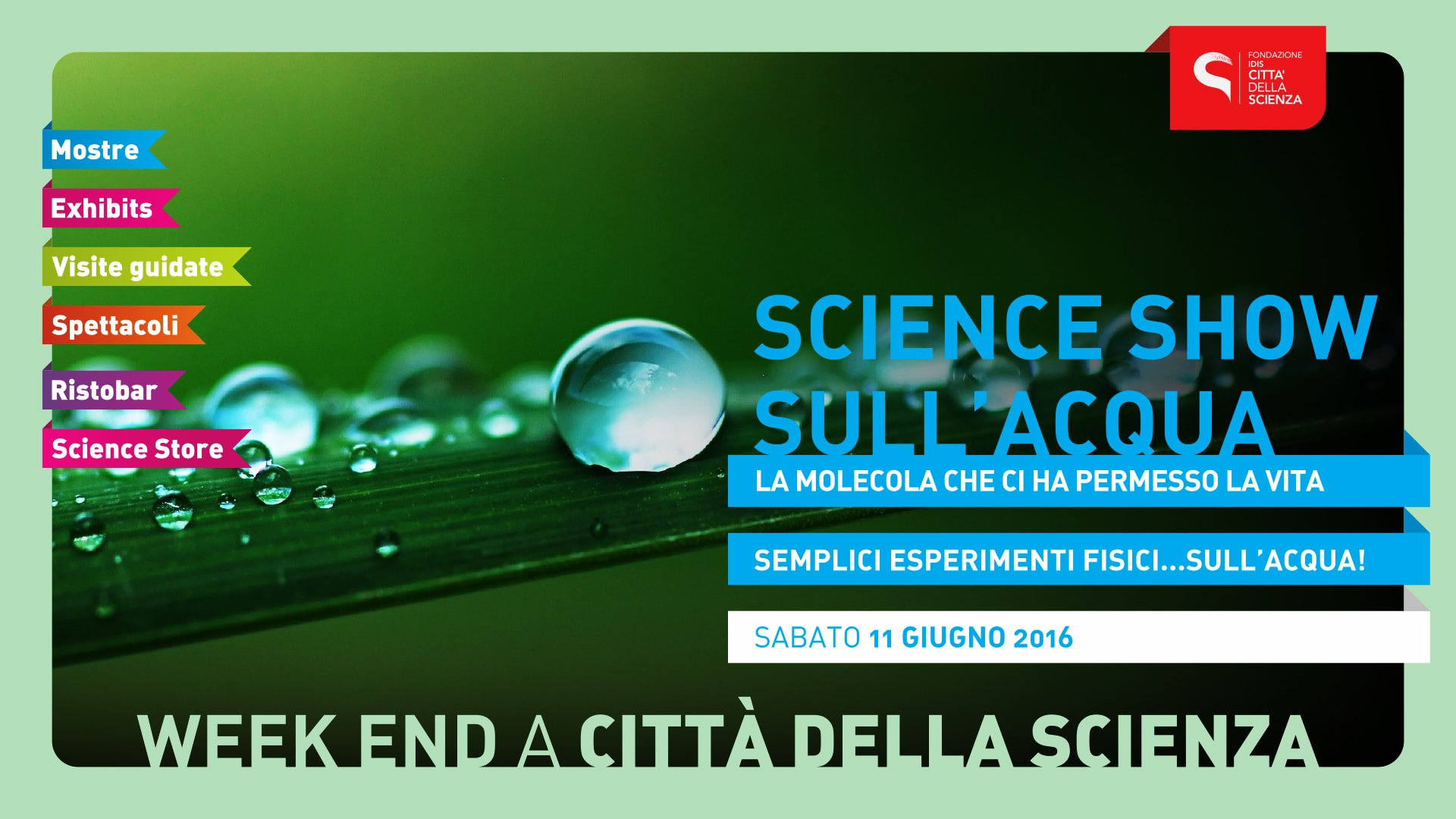 science show acqua