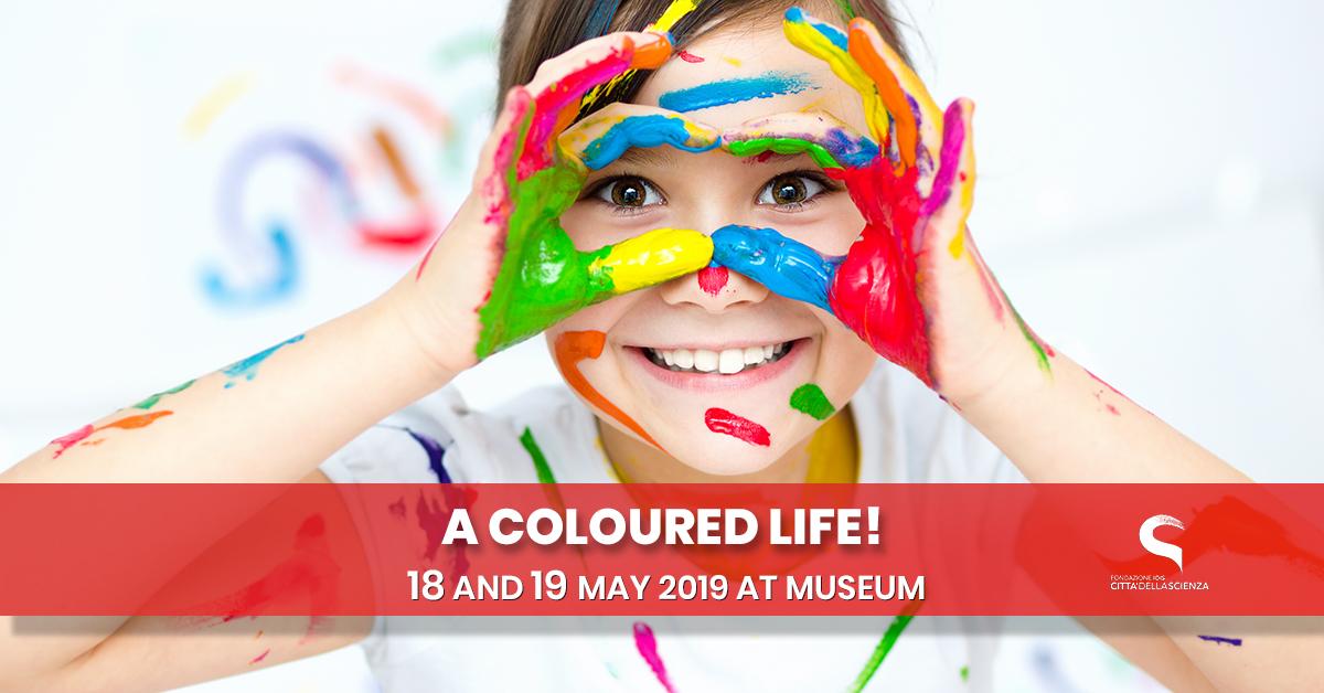 Una vita a colori_ 18_19_maggio_Città della Scienza_ENG_nologo