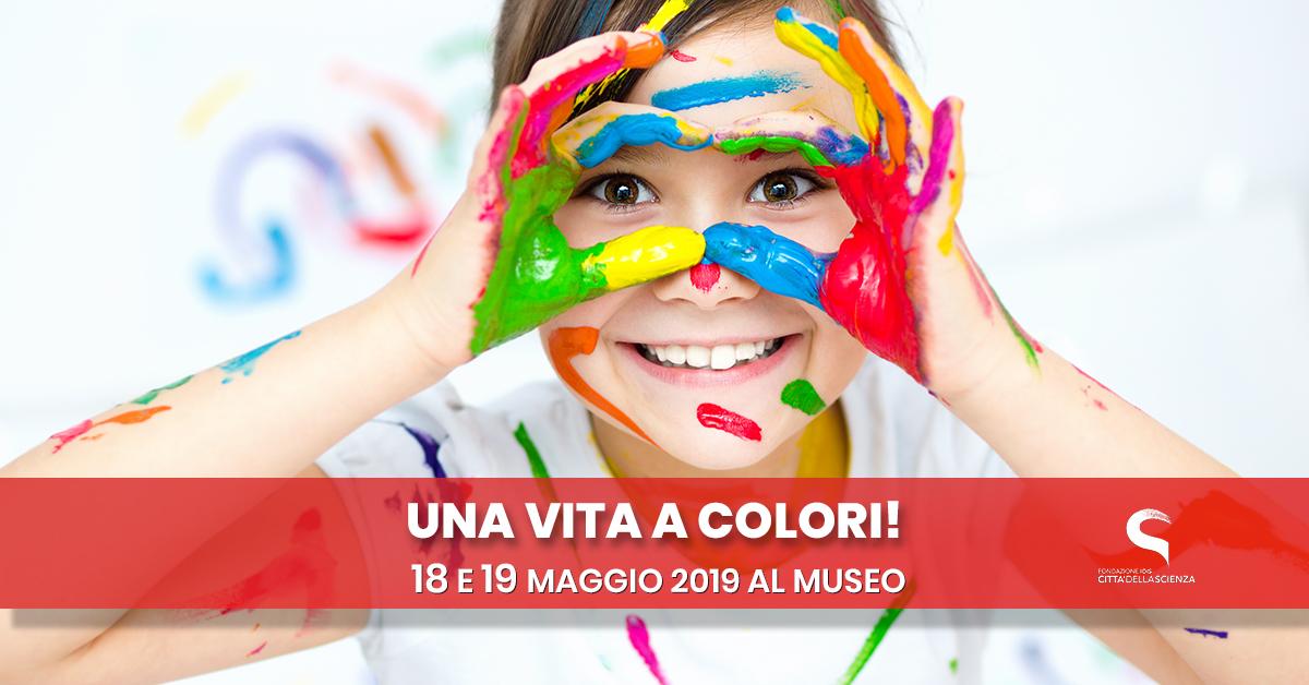 Una vita a colori_ 18_19_maggio_Città della Scienza_ITA_nologo