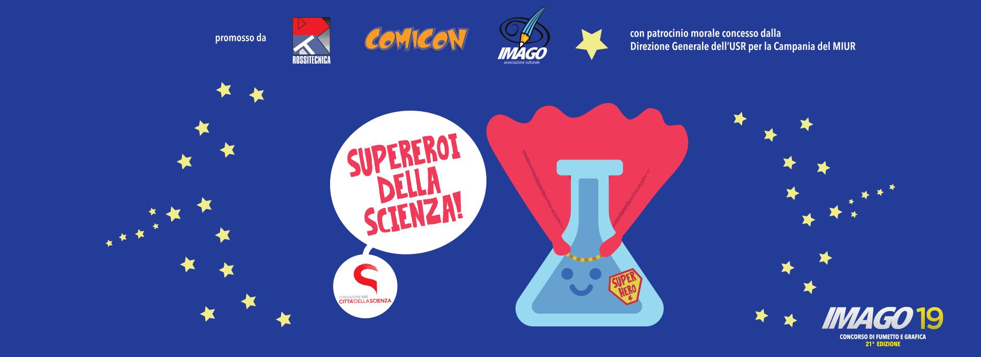 Comicon - Imago 2019 - Città della Scienza