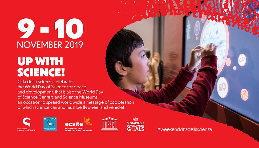 W la Scienza_9 e 10 novembre a Città della Scienza _ENG