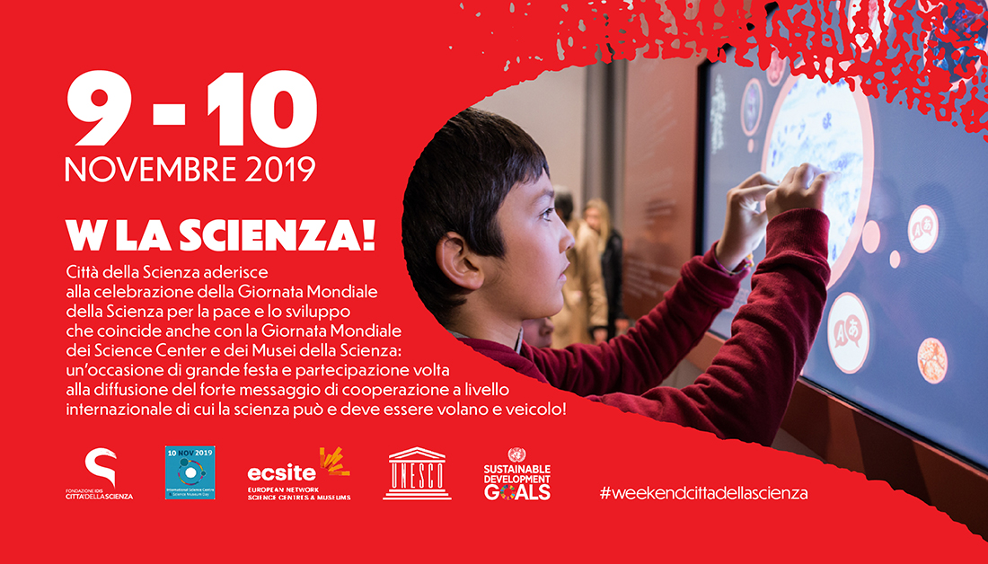 W la Scienza_9 e 10 novembre a Città della Scienza _ITA