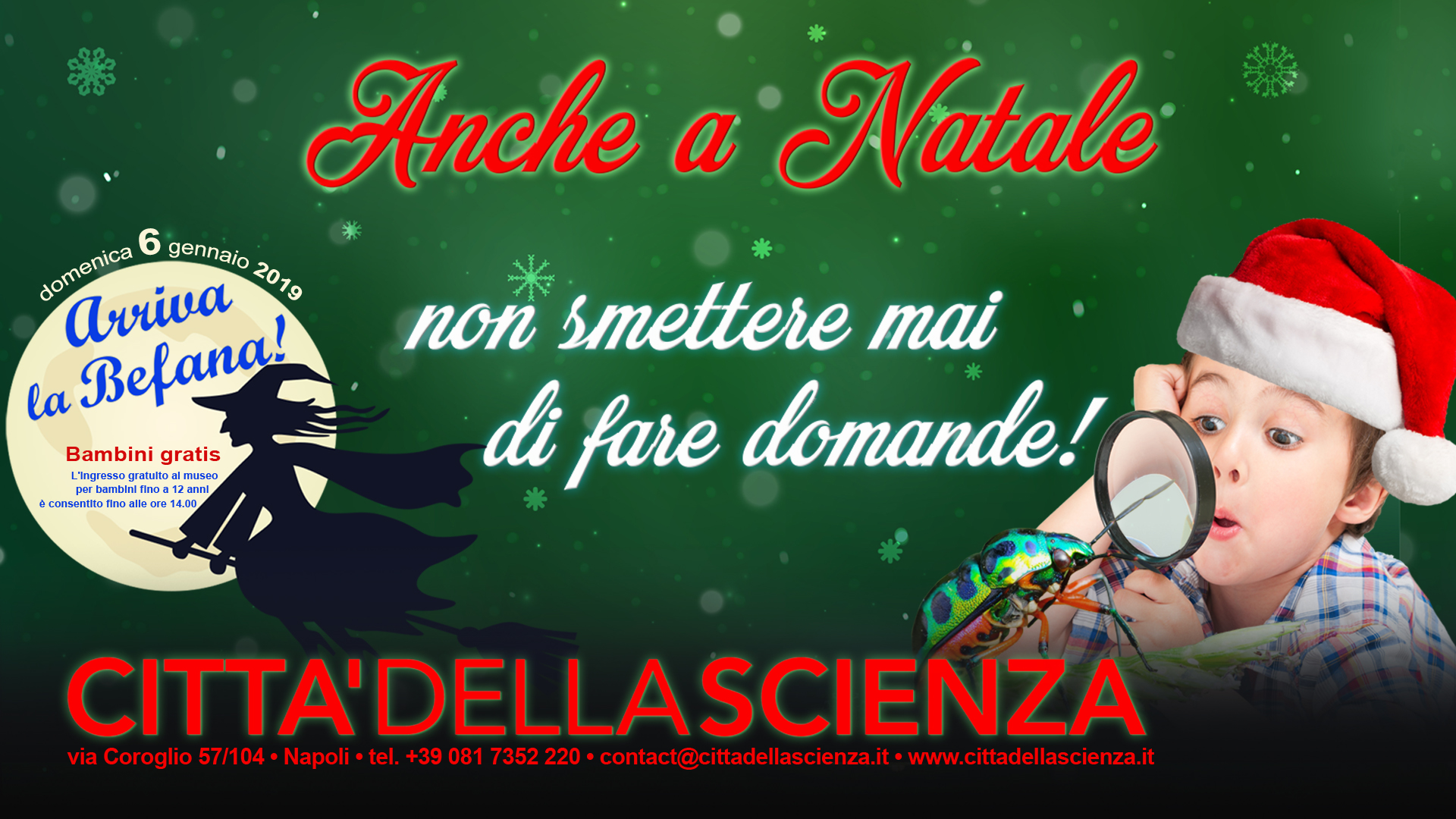 Christmas at Città della Scienza is a magical moment where you can breathe  party air without learning about science and where cd8fcf681ae2
