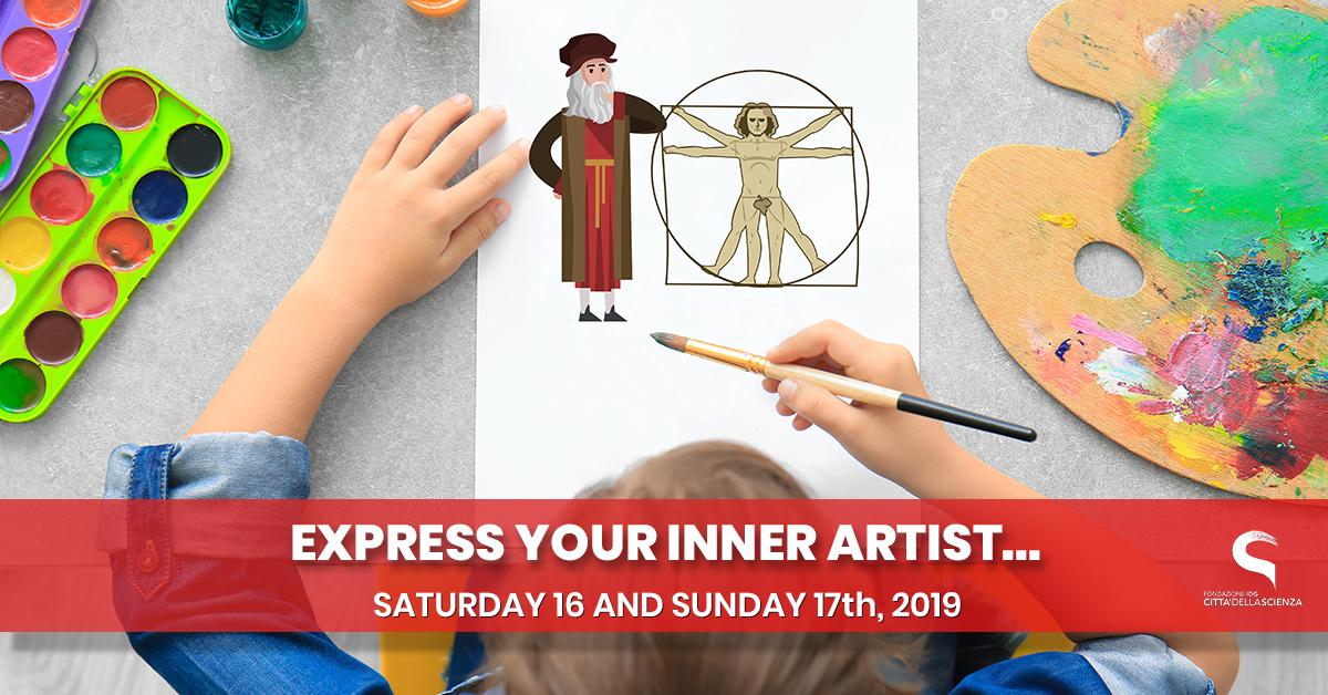 artisti per un giorno_ 16_17 febbraio 2019 a Città della Scienza_ENG
