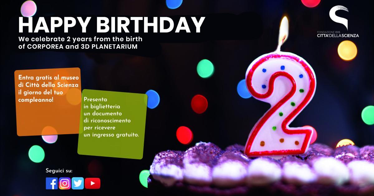 buon compleanno Città della Scienza_ ENG