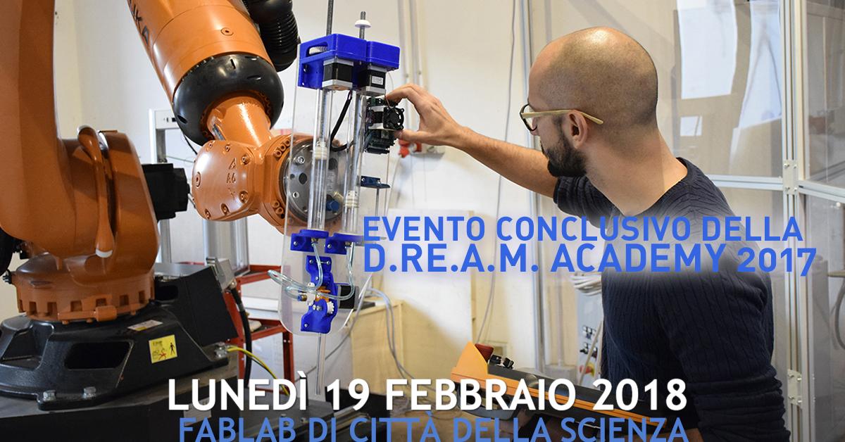 evento conclusivo dream academy