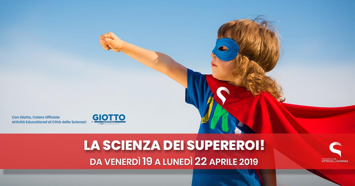 la Sciena dei Supereroi a Città della Scienza_ITA