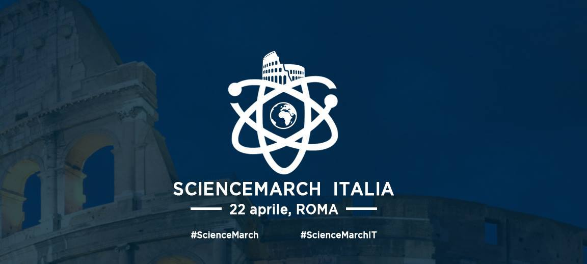 marcia per la scienza roma