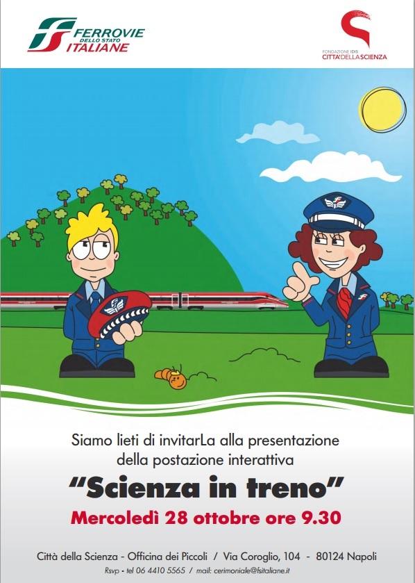 scienza in treno
